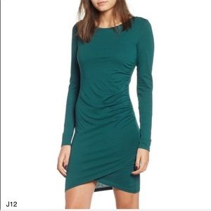 Leith NWT teal dress soft and fitted